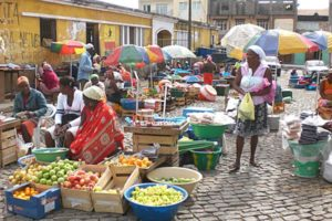 Kaapverdische markt