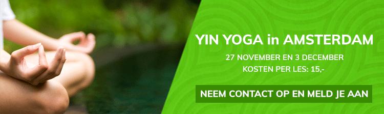 Yin Yoga in Amsterdam