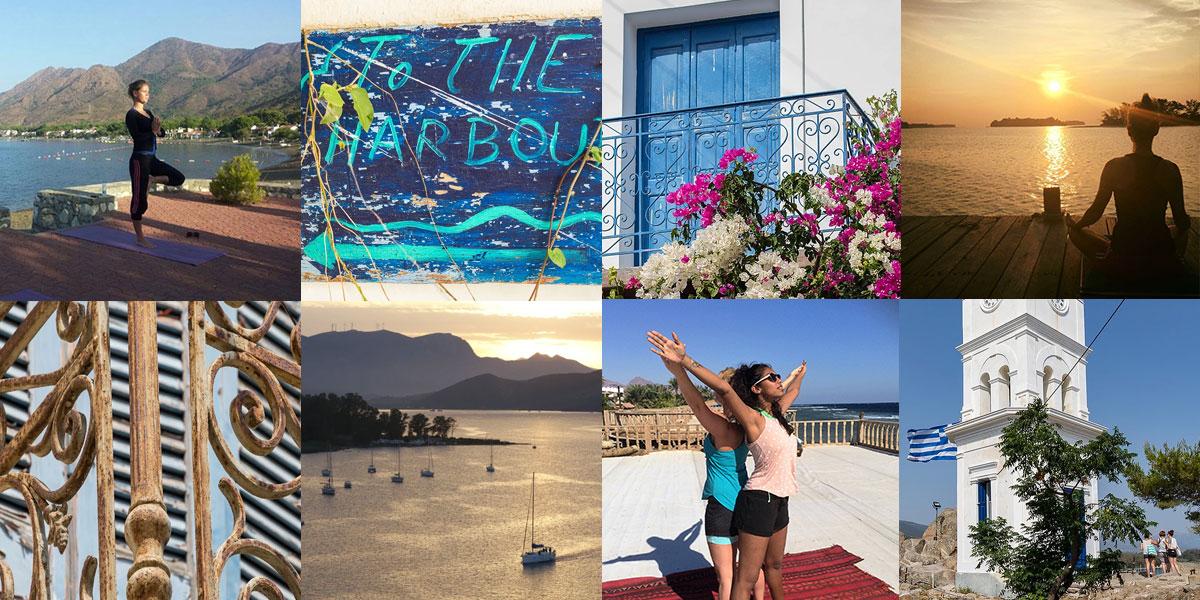 Yoga retreat Poros Griekenland