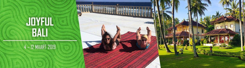 joyful Bali yoga