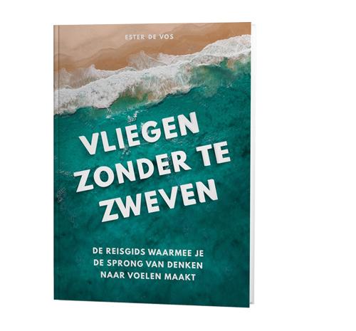 boek Vliegen zonder te zweven